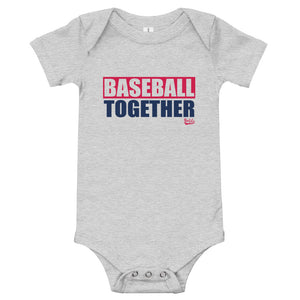 Baseball Together Atlanta Onesie - Away