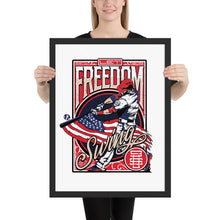 Load image into Gallery viewer, Freedom Swing Framed Poster - 16 x 20