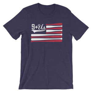 Bat Flag - Heather Midnight Navy