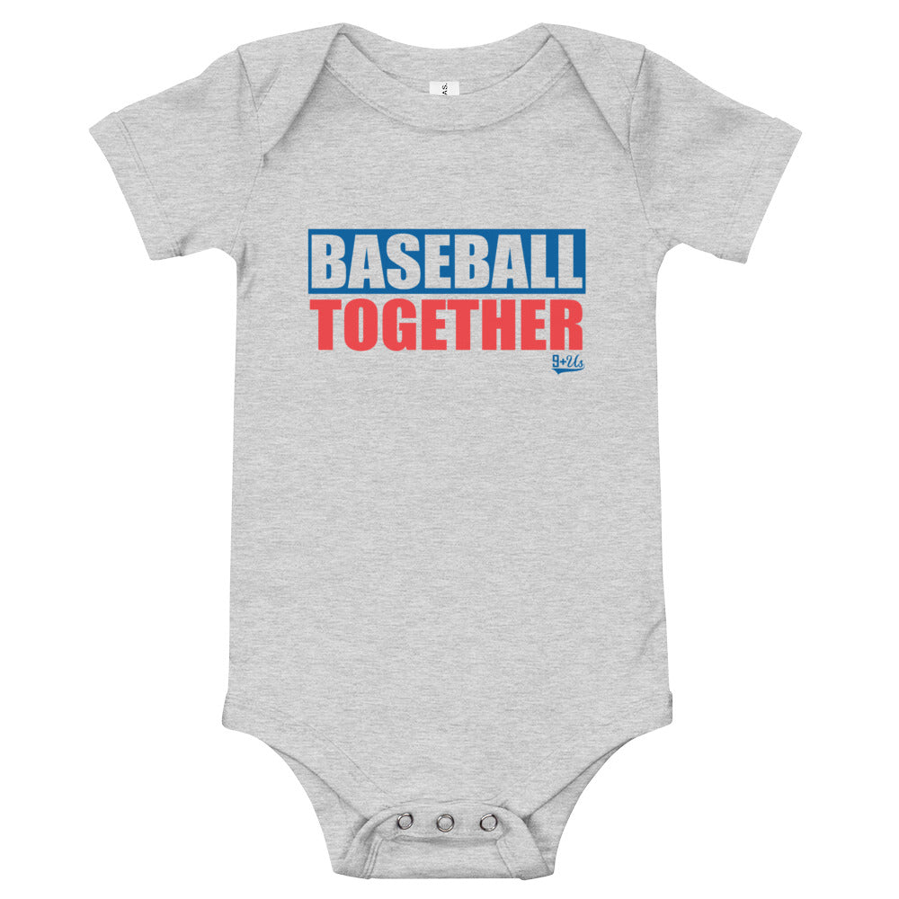 Los Angeles Onesie Baseball Together - Away