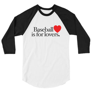 Lovers Baseball Tee - White/Black