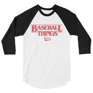 Baseball Things Baseball Tee - White/Black