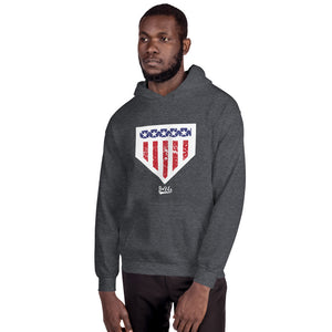 Home of the Brave Hoodie - Model Men's