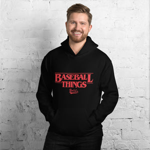 Baseball Things Hoodie - Model Men's