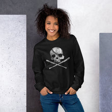 Load image into Gallery viewer, Pirate Baseball Sweatshirt Model