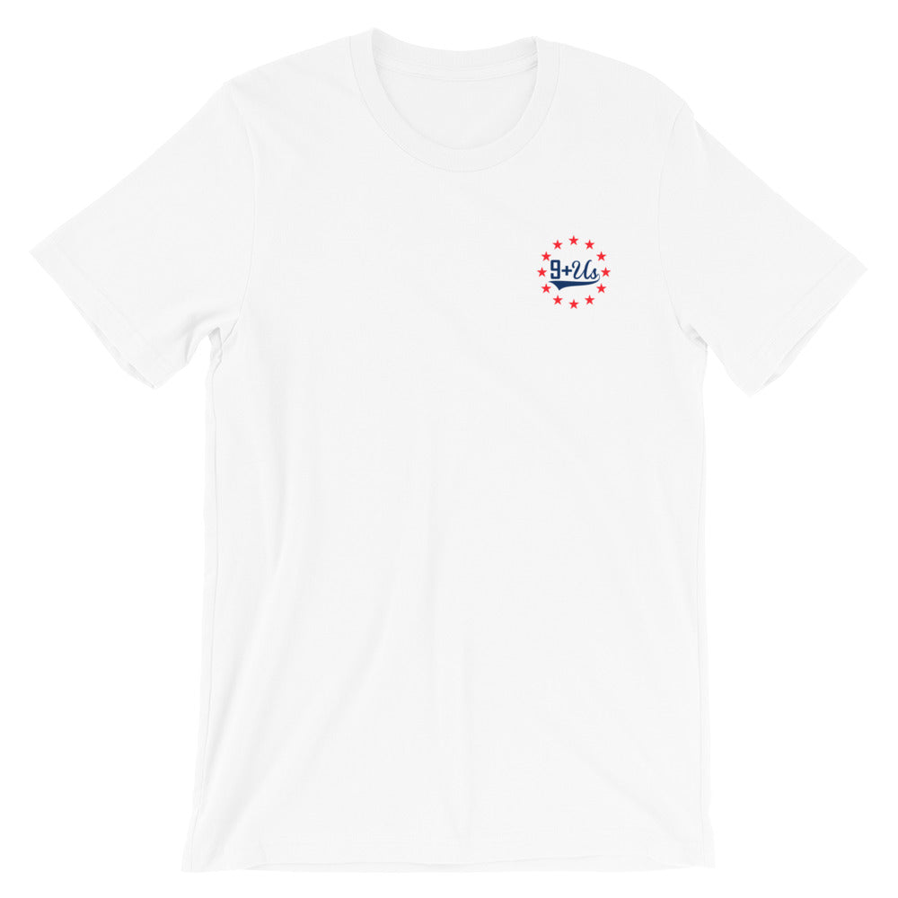 Lady Liberty Front - White