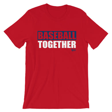 Baseball Together Anaheim - Red Alternate