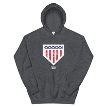 Load image into Gallery viewer, Home of the Brave Hoodie - Grey