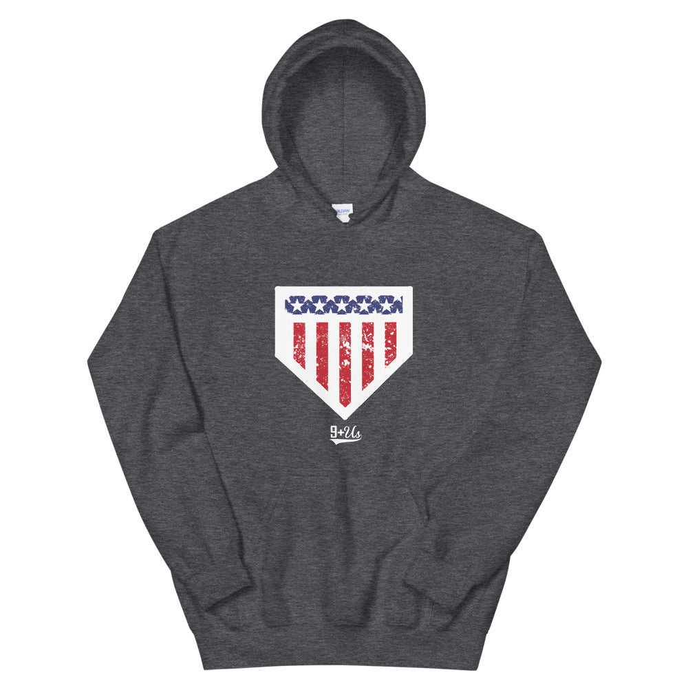 Home of the Brave Hoodie - Grey