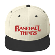 Load image into Gallery viewer, Baseball Things - Snapback