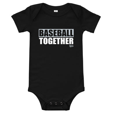 Chicago South Onesie Baseball Together - Black Alternate