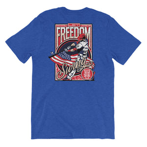 Freedom Baseball Swing - Heather True Royal