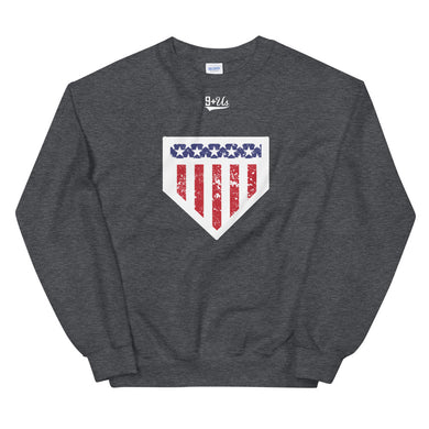 Home of the Brave Sweatshirt - Dark Heather