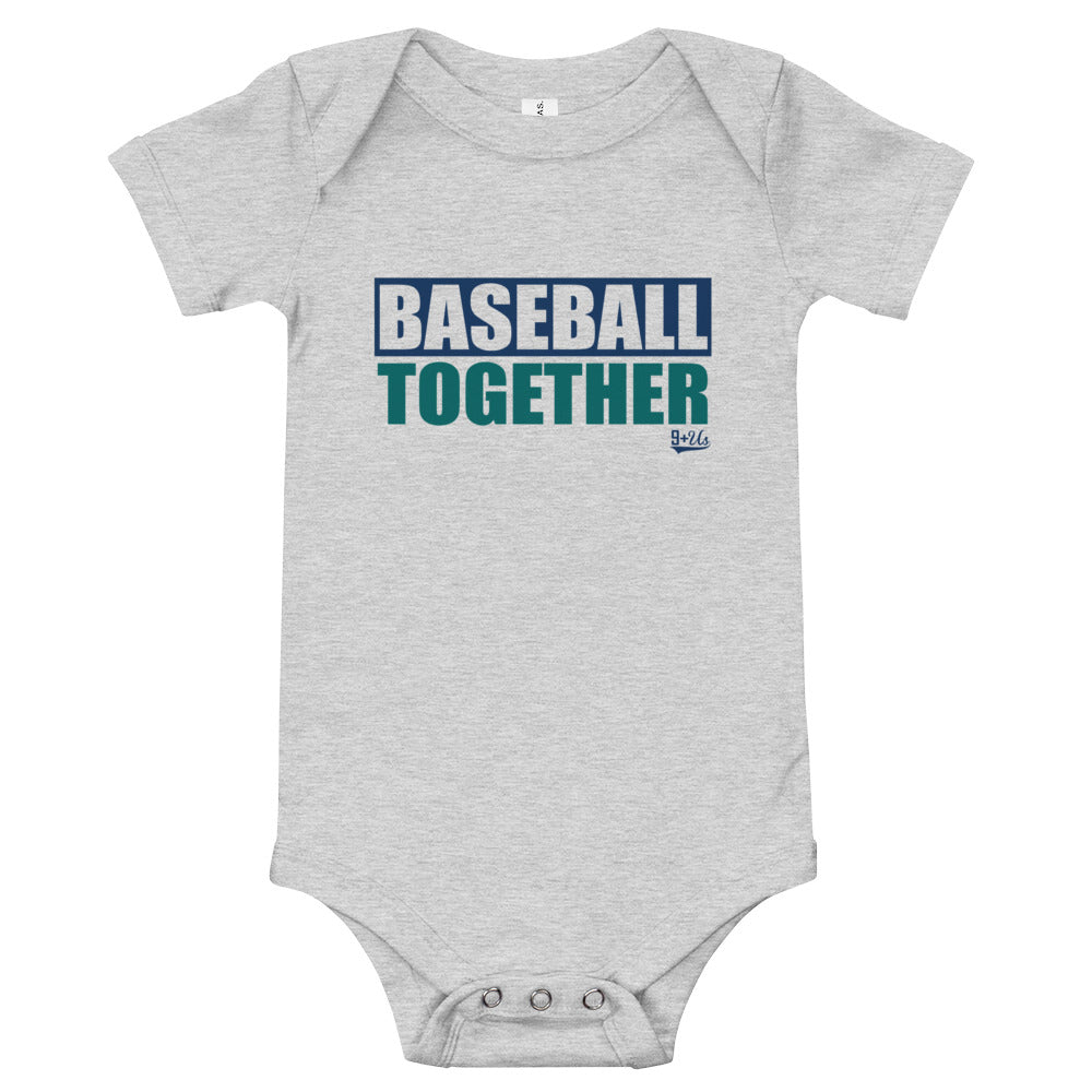 Seattle Onesie Baseball Together - Away