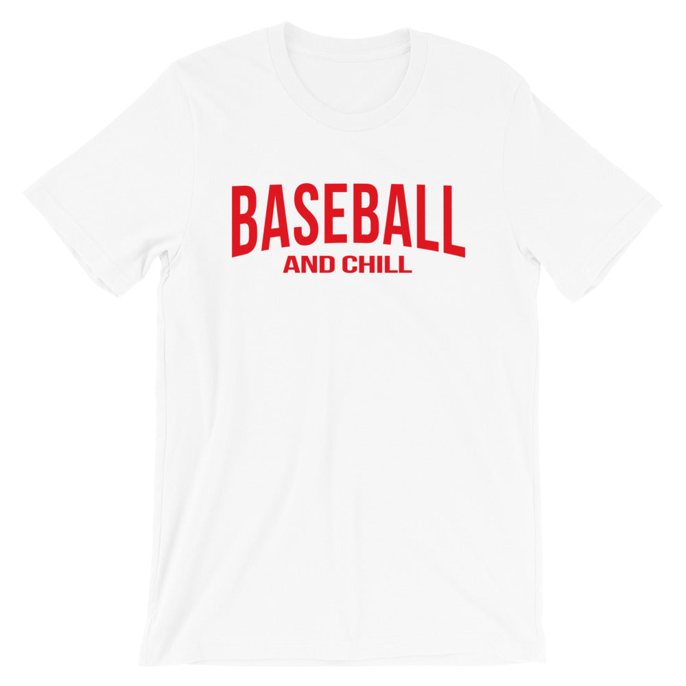 Baseball And Chill - White
