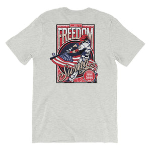 Freedom Baseball Swing - Athletic Heather