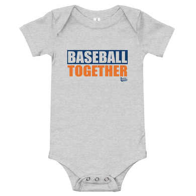Houston Onesie Baseball Together - Away
