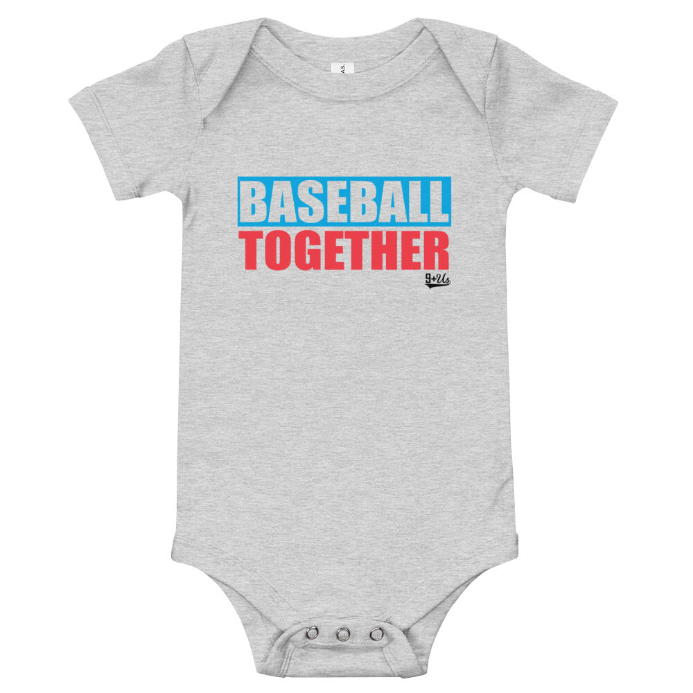 Miami Onesie Baseball Together - Away