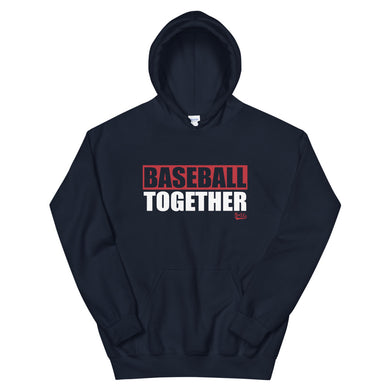 Official Baseball Together Podcast Hoodie - Navy