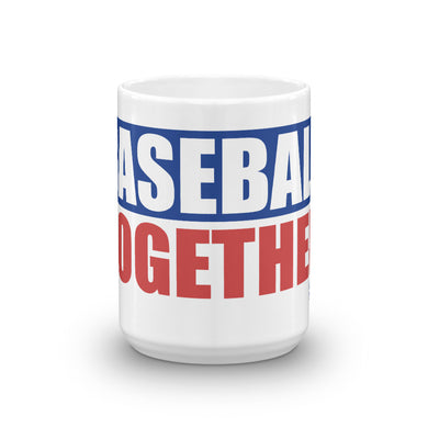 Baseball Together Podcast Mug