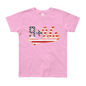 Flag Logo Youth - Pink