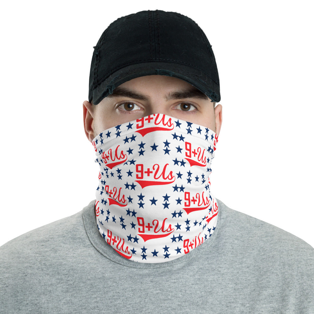 Star Spangled Corona Mask - White