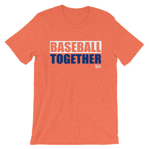 Queens Baseball Together - Orange Alternate