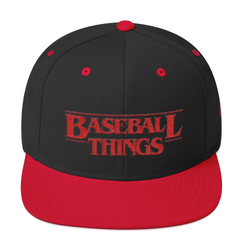 Baseball Things Snapback Hat