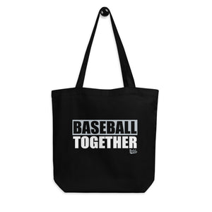 Pirate Baseball Eco Tote Bag - Baseball Together