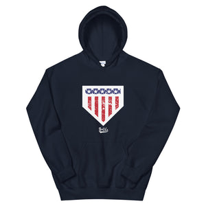 Home of the Brave Hoodie - Navy