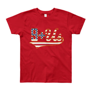 Flag Logo Youth - Red