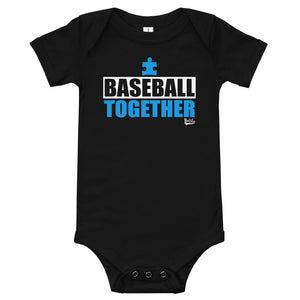 Autism Awareness Together Onesie - Black