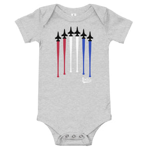 Flyover Onesie - Athletic Heather