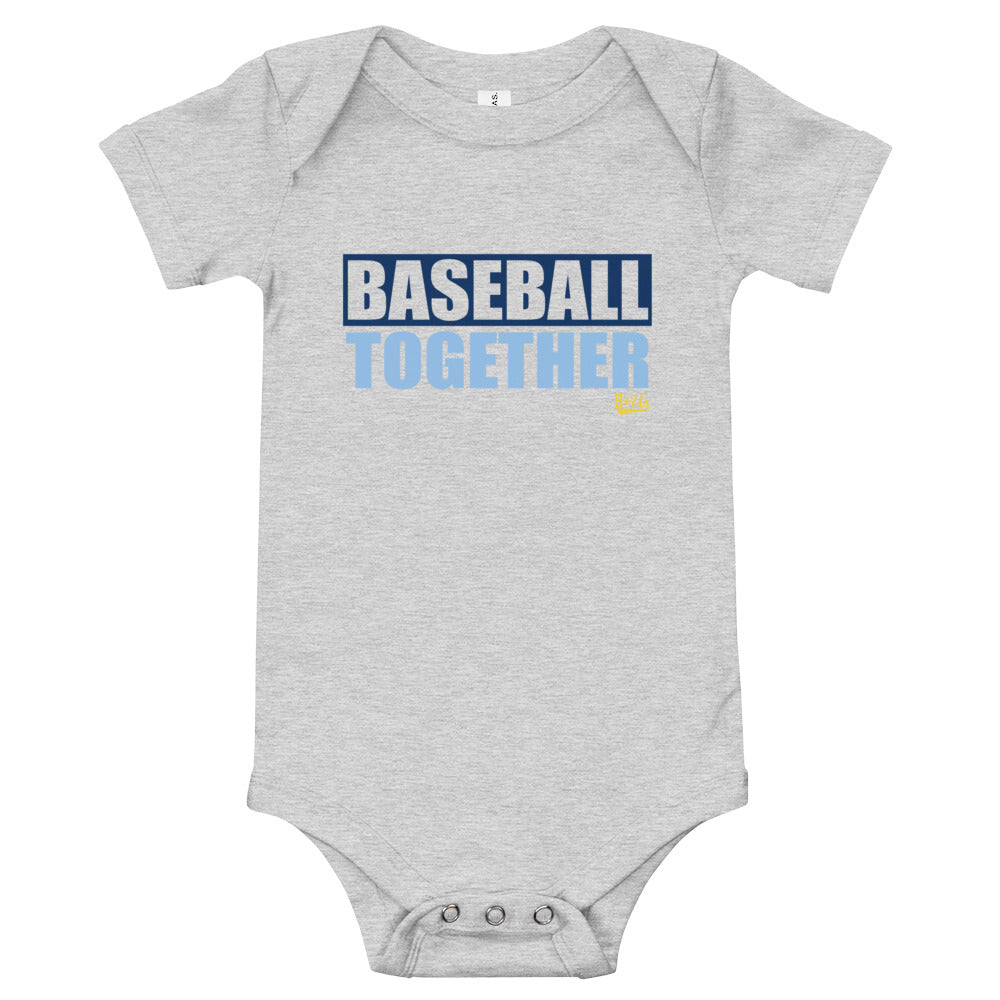 Tampa Bay Onesie Baseball Together - Away