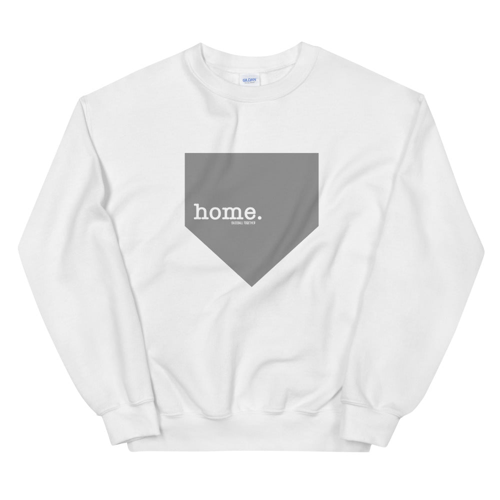 home. Sweatshirt - White