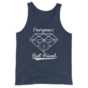 Diamonds Tank - Navy