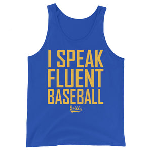 Fluent Baseball Tank - True Royal