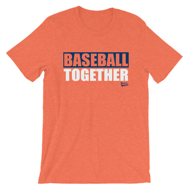 Houston Baseball Together - Orange Alternate