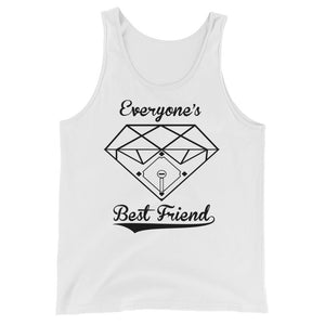 Diamonds Tank - White