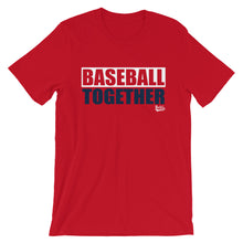 Load image into Gallery viewer, Baseball Together Boston - Alternate Red