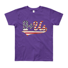 Load image into Gallery viewer, Flag Logo Youth - Purple