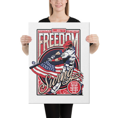 Freedom Swing Canvas - 24 x 36