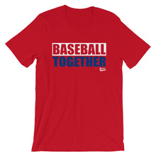 Load image into Gallery viewer, Philadelphia Baseball Together - Red Alternate