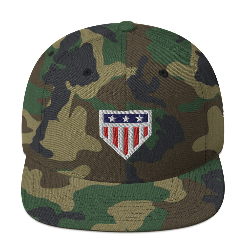Home of the Brave Snapback Hat