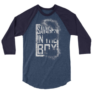 Savages In The Box - Baseball Tee