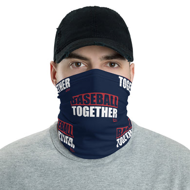 Baseball Together Podcast Corona Mask - Navy