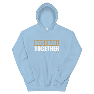 Official Baseball Together Podcast Hoodie - Light Blue