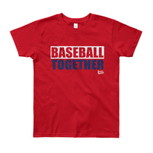 Load image into Gallery viewer, Washington Youth Baseball Together - Red Alternate
