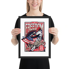 Load image into Gallery viewer, Freedom Swing Framed Poster - 12 x 16