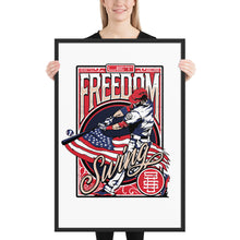 Load image into Gallery viewer, Freedom Swing Framed Poster - 18 x 24